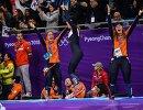 Спортсменки сборной Нидерландов