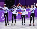 Спортсменки сборной Республики Корея