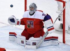 Вратарь сборной Чехии по хоккею Павел Францоуз