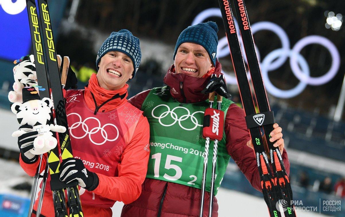 Русские лыжники заработали новейшую олимпийскую медаль