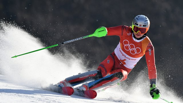 Норвежский горнолыжник Хенрик Кристофферсен