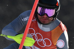 Российский горнолыжник Александр Хорошилов