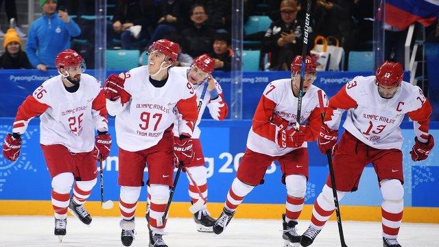 Хоккей с чехами 23 февраля