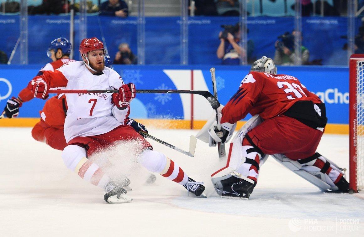 Русские хоккеисты впервый раз за20 лет вышли вфинал олимпийского турнира