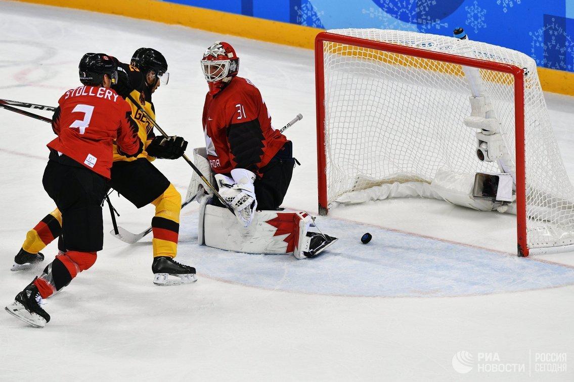 Хоккеисты сборной Германии сыграют вфинале Олимпиады— Главная сенсация Пхенчхана