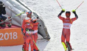 Спортсмены сборной Норвегии по горнолыжному спорту