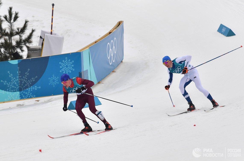 Российский лыжник, наш земляк, Александр Большунов завоевал серебро наолимпиаде вПхёнчхане