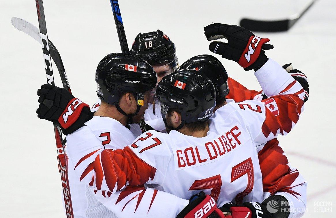 Канадцы обыграли чехов вматче за«бронзу» вПхенчхане