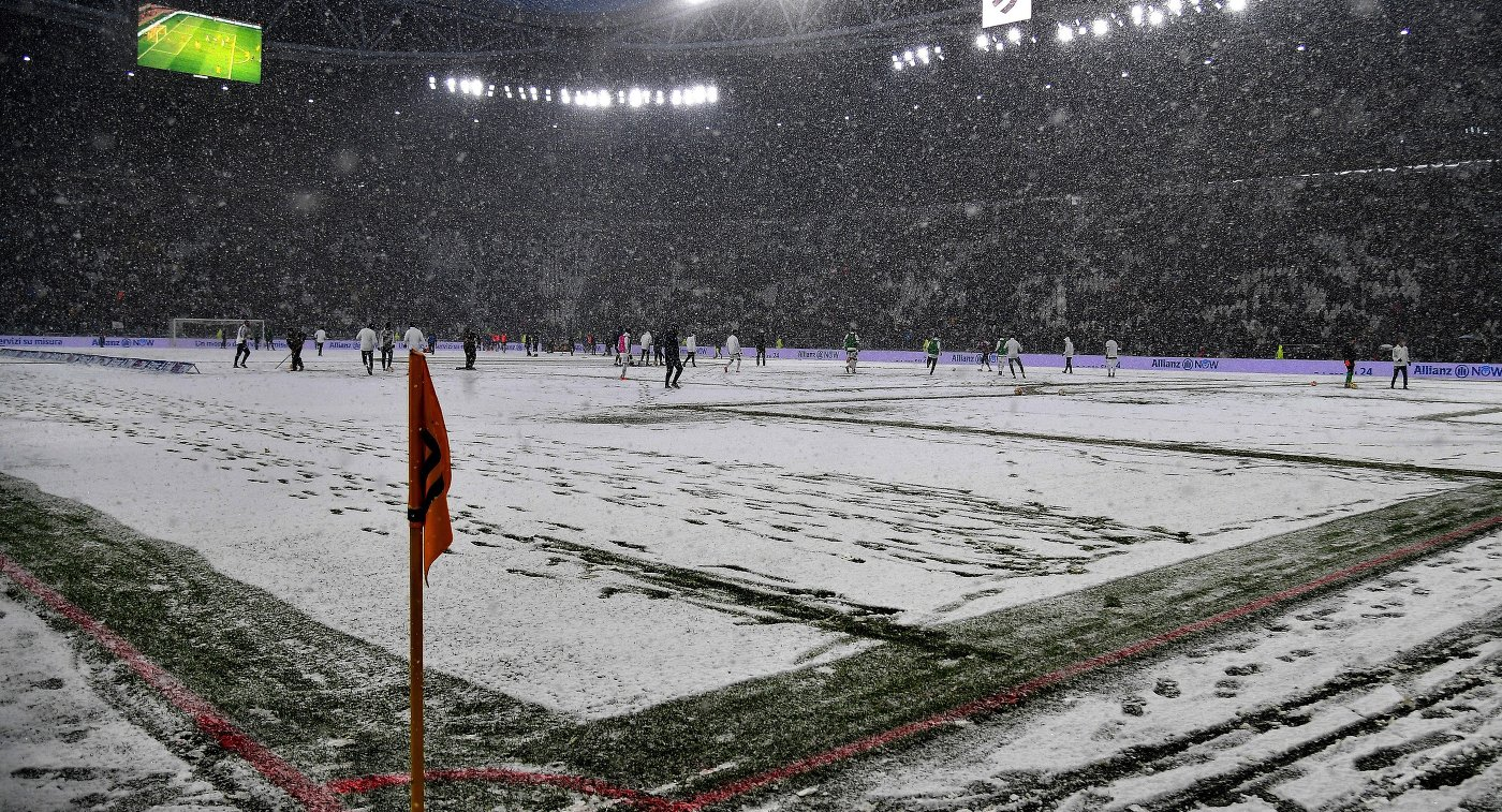 Матч «Ювентус»— «Аталанта» перенесен из-за снегопада