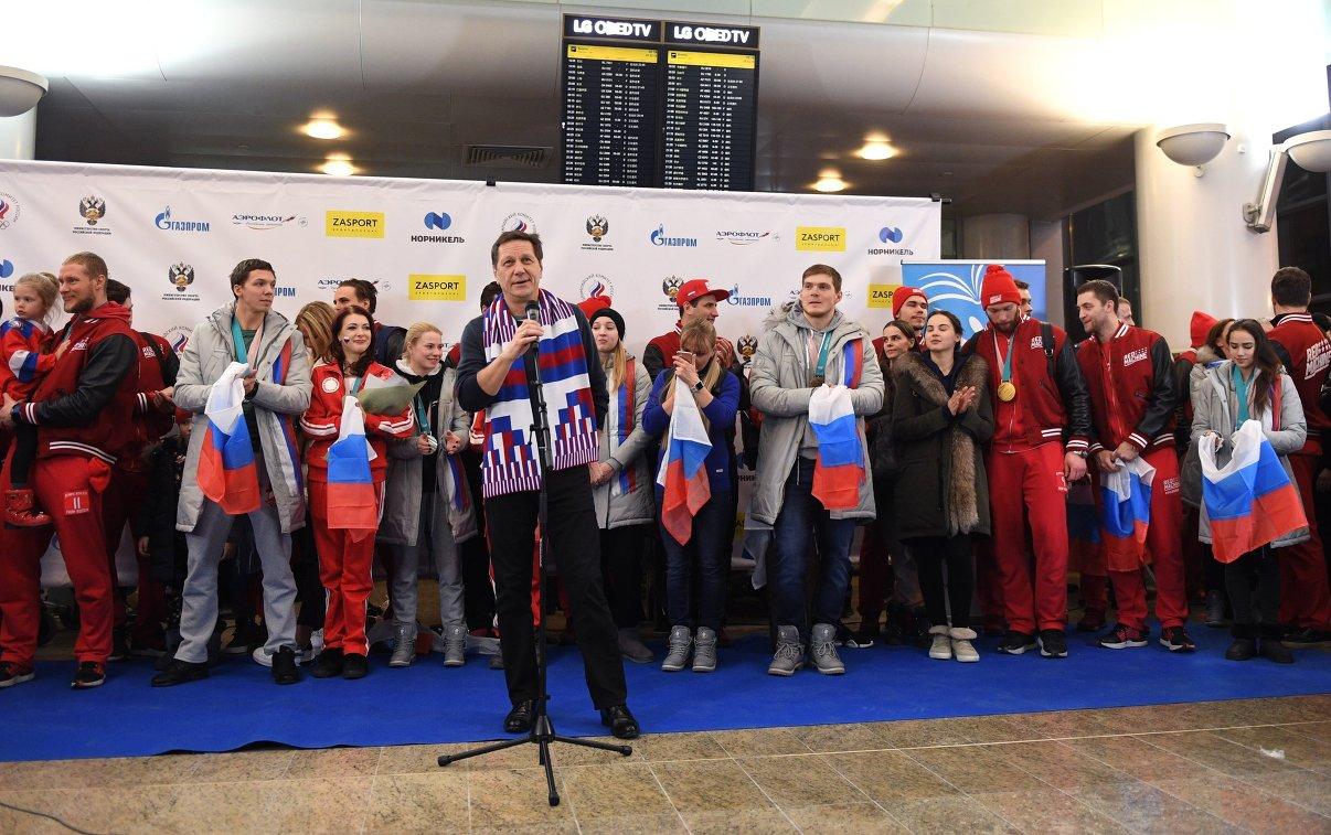 МОК объявил обавтоматическом снятии санкций сОКР