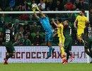 Игровой момент матча 21-го тура РФПЛ Краснодар - Ростов