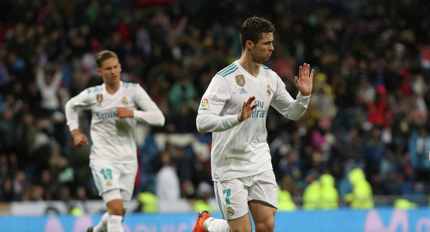 Победа «Реала», дубль Роналду и300-й гол вПримере