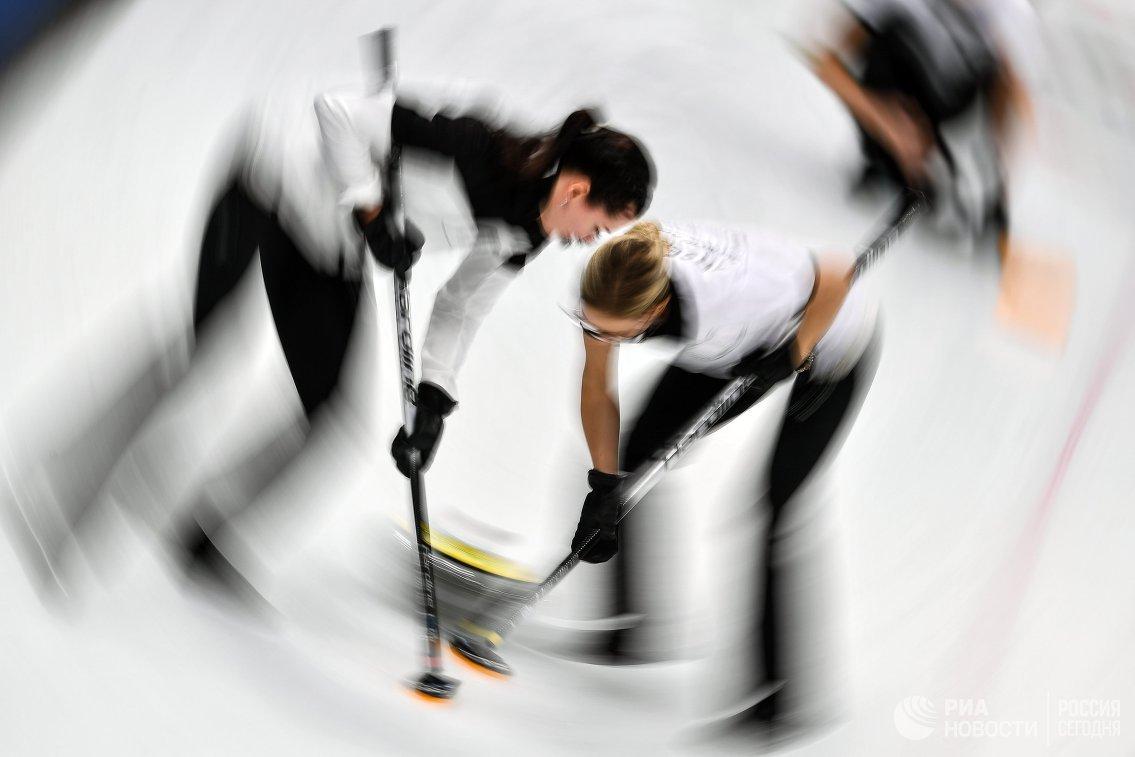 Олимпиада 2018. Кёрлинг. Женщины. Третий день