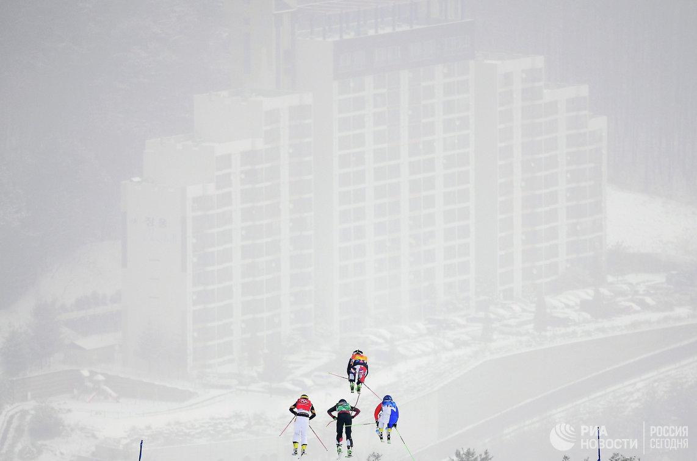 Олимпиада 2018. Фристайл. Женщины. Ски-кросс