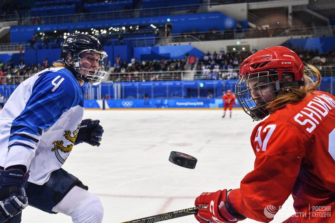 Роза Линдстедт (слева) и Анна Шохина (Россия)