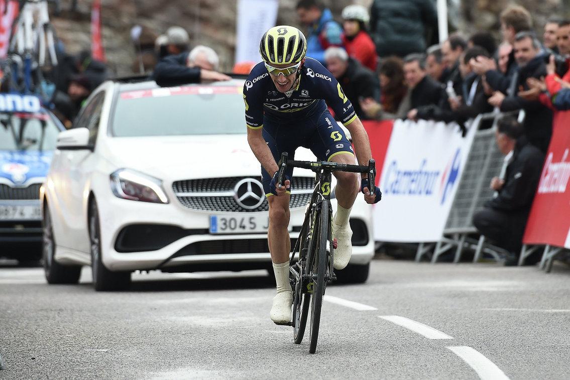 """Йейтс выиграл 11-й этап велогонки """"Джиро д'Италия"""" и упрочил лидерство в общем зачете"""