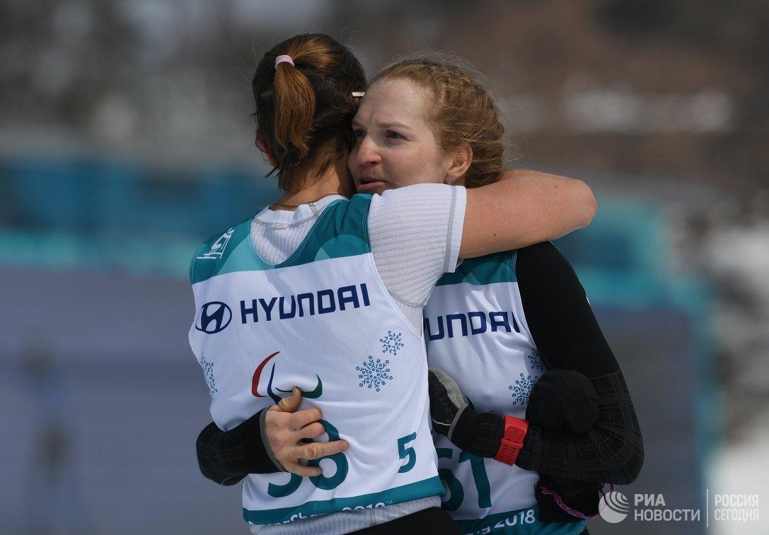 Екатерина Румянцева (справа) и Анна Миленина