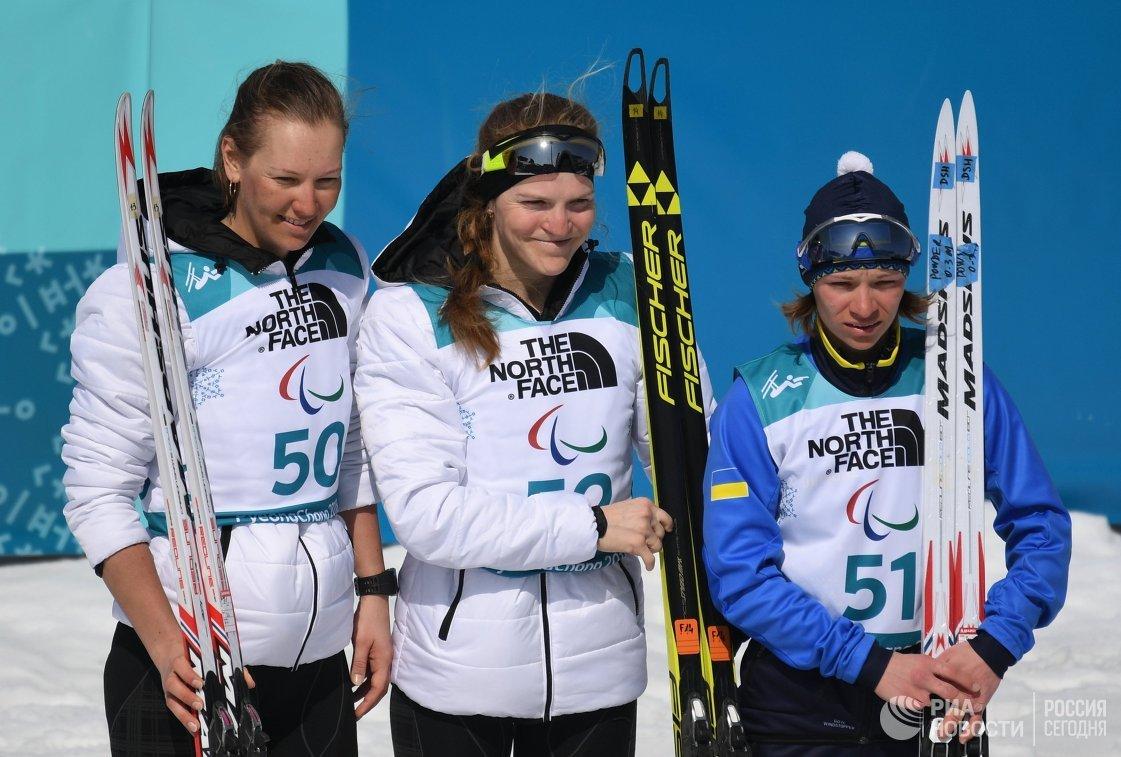 Анна Миленина, Екатерина Румянцева и Людмила Ляшенко (слева направо)
