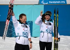 Анна Миленина и Екатерина Румянцева (слева направо)