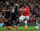 Игровой момент матча Севилья - Манчестер Юнайтед
