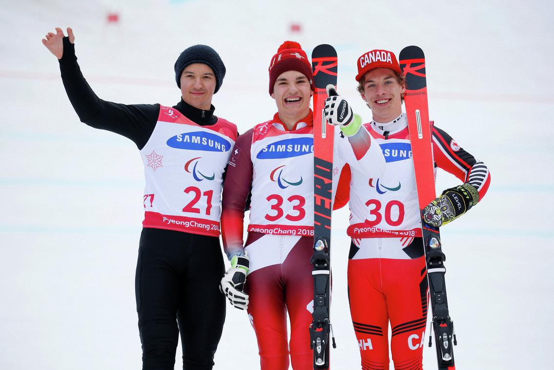 Алексей Бугаев, Тео Гмюр и Алексис Гимон (слева направо)