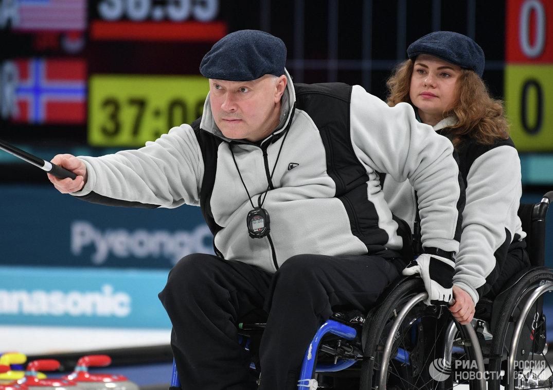 Российские атлеты Александр Шевченко и Дарья Щукина