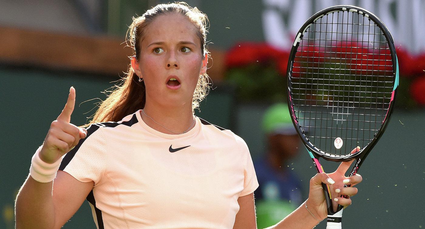 Касаткина претендует название лучшей теннисистки марта