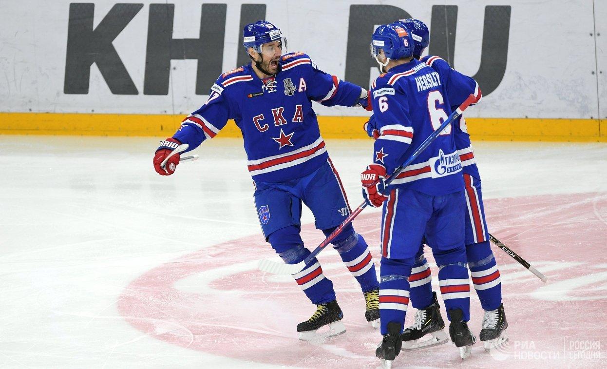 СКА одержал победу над «Локомотивом» вматче плей-офф КХЛ