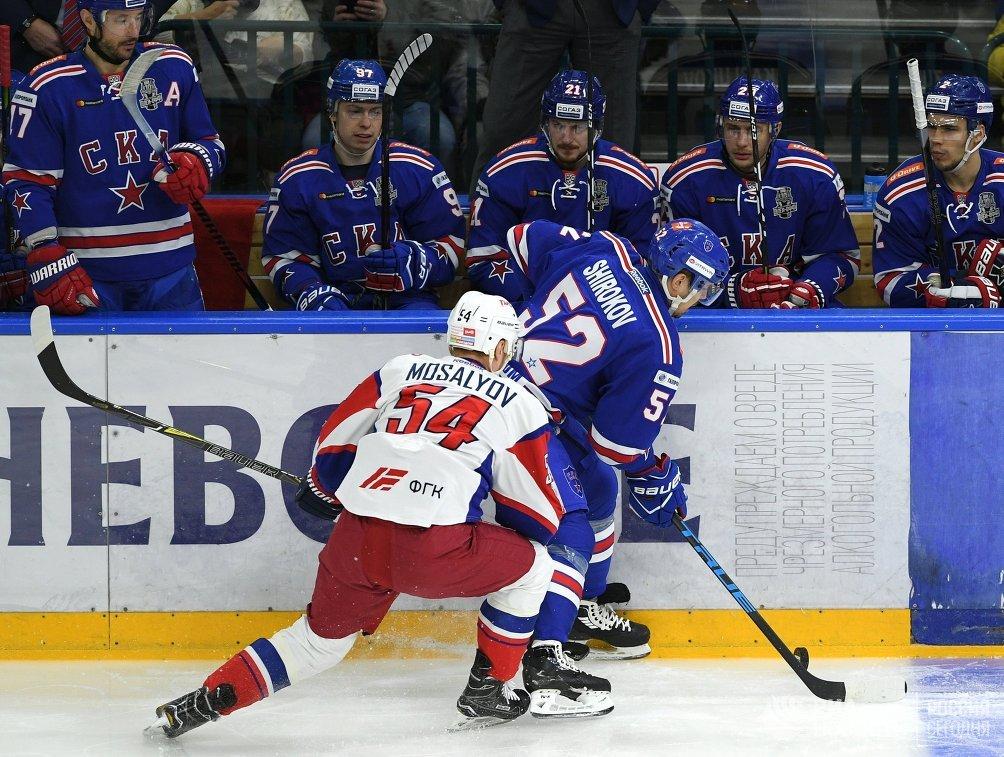 СКА разгромил «Локомотив» впервом матче полуфинала КХЛ