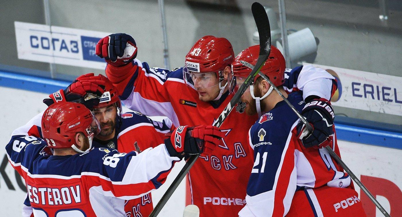 ЦСКА одержал вторую победу всерии с«Йокеритом»