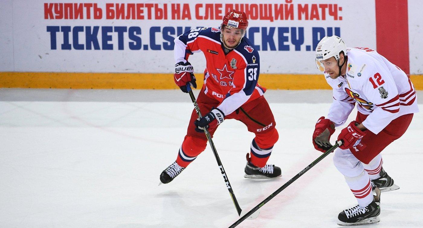 ЦСКА проиграл «Йокериту» вматче четвертьфинальной серии КХЛ