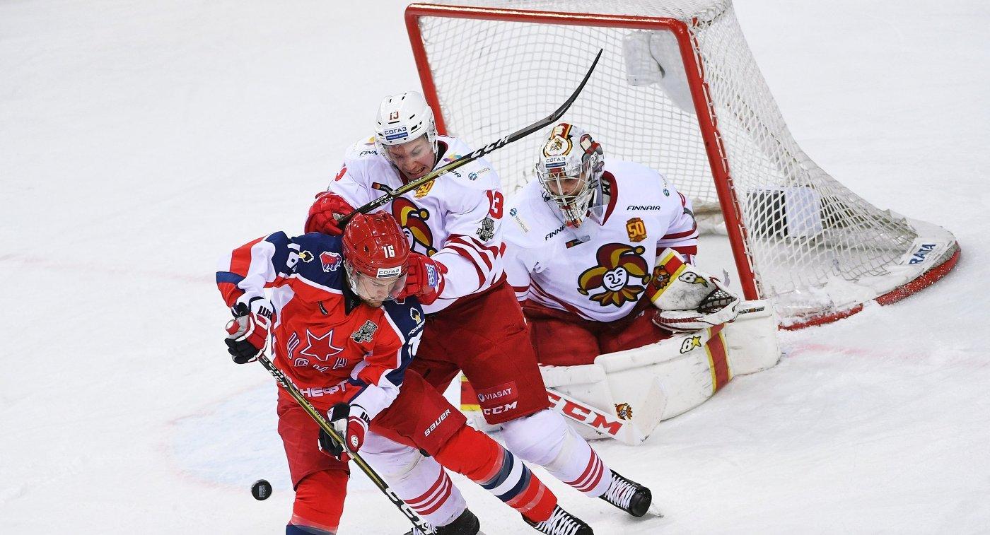 «Йокерит»— ЦСКА: эксперты назвали фаворита 3-го матча серии Кубка Гагарина