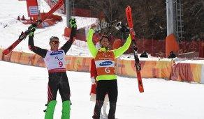 Валерий Редкозубов (слева) и его ведущий Евгений Героев