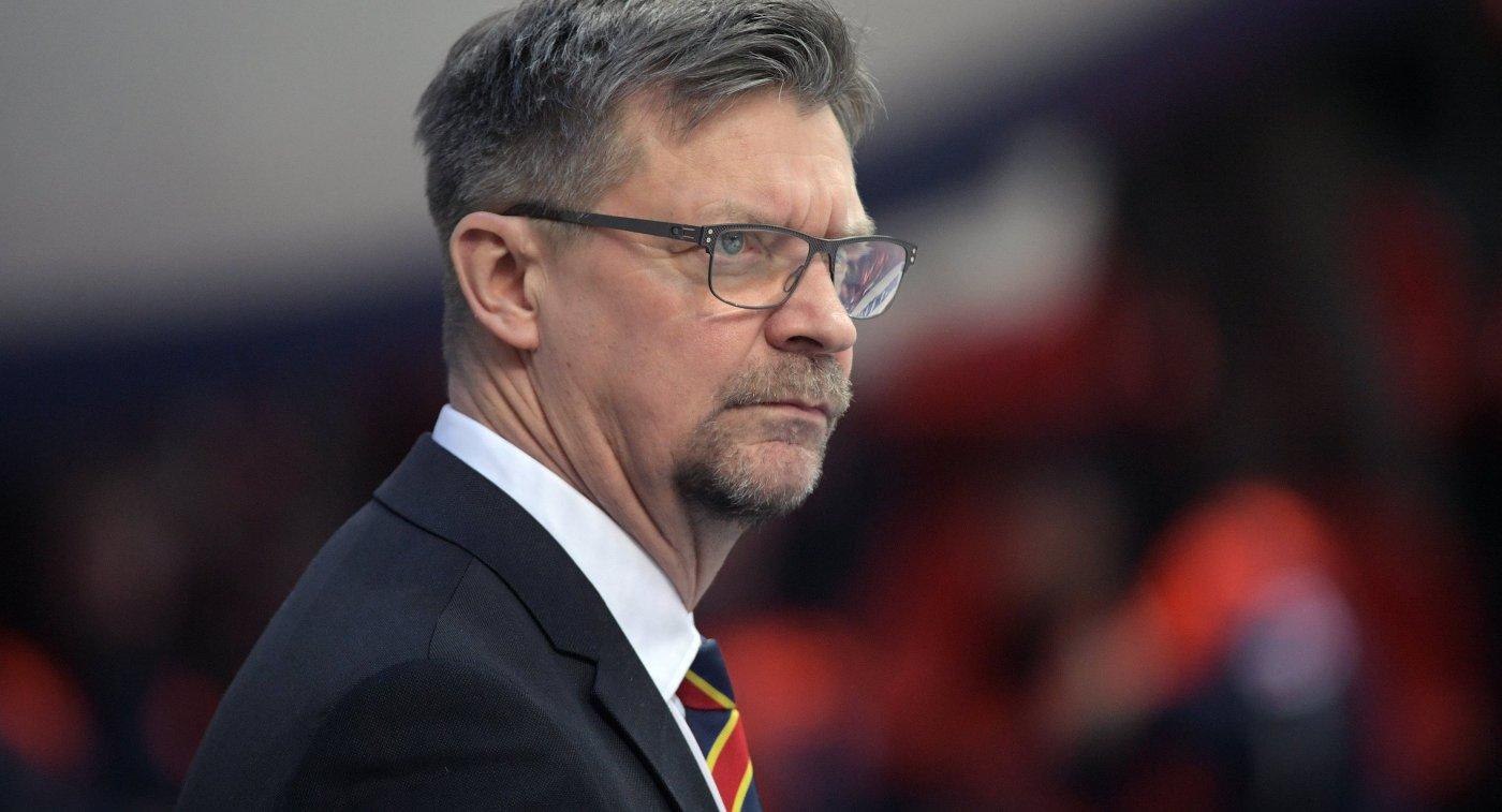 Тренер сборной Финляндии Ялонен: нервничаю перед первой игрой сезона