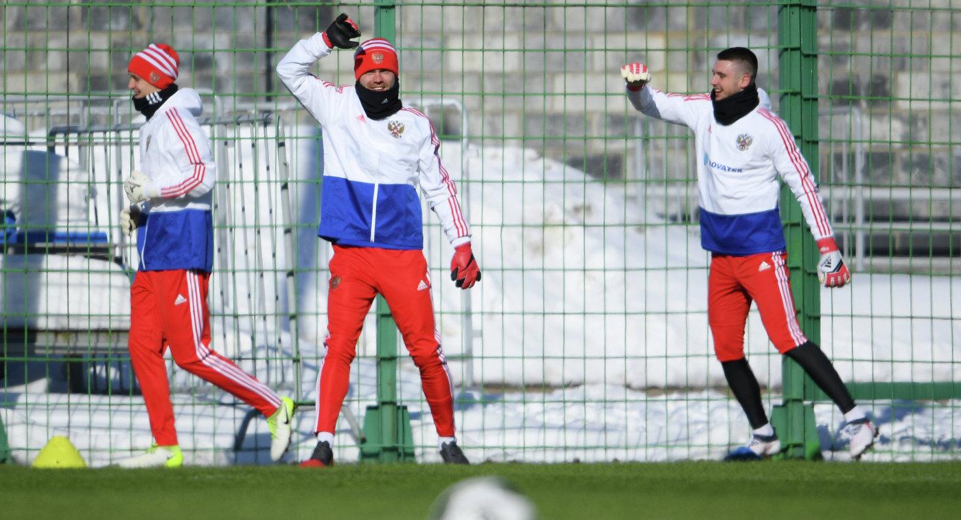 Черчесов иЛунёв— опредстоящем матче сборной РФ сФранцией