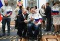 Владимир Путин и Андрей Мещеряков