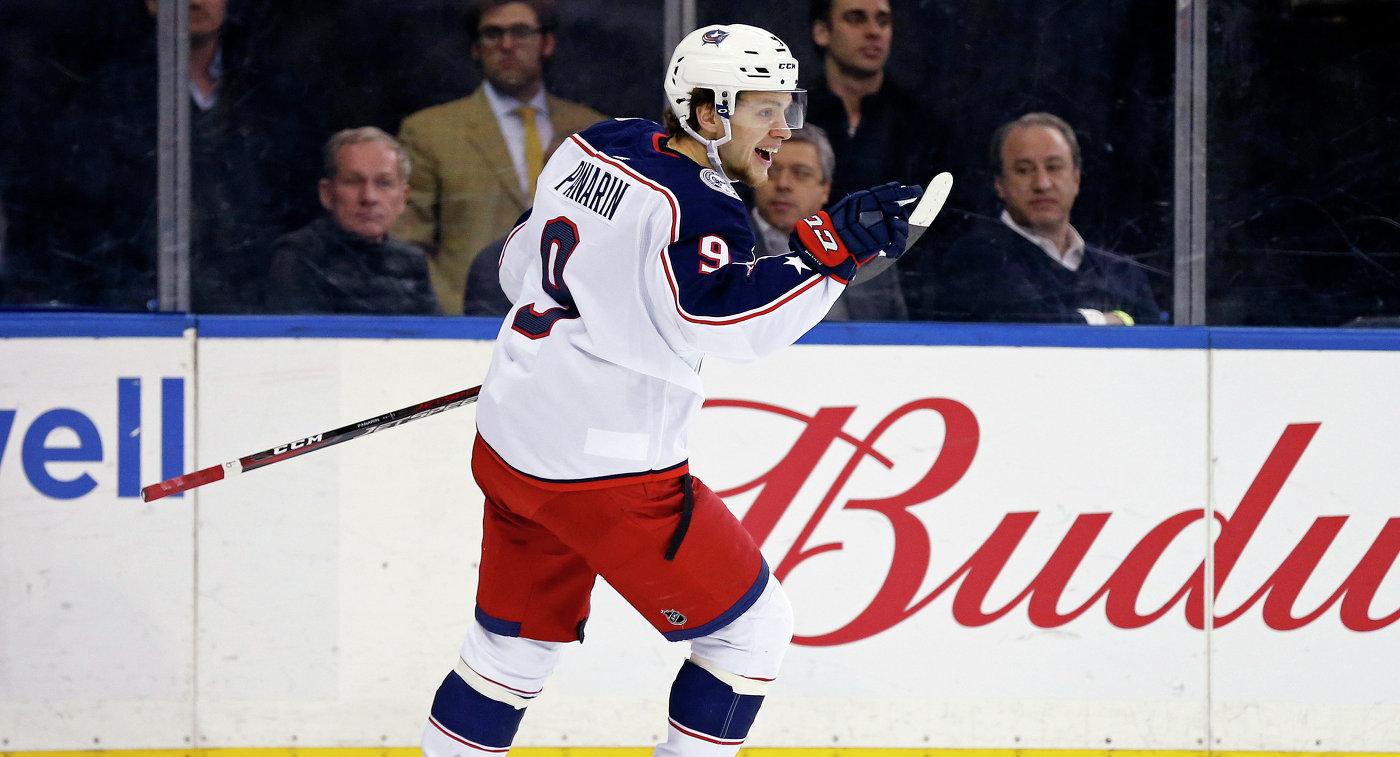 """Гол Панарина помог """"Коламбусу"""" обыграть """"Миннесоту"""" в матче НХЛ"""
