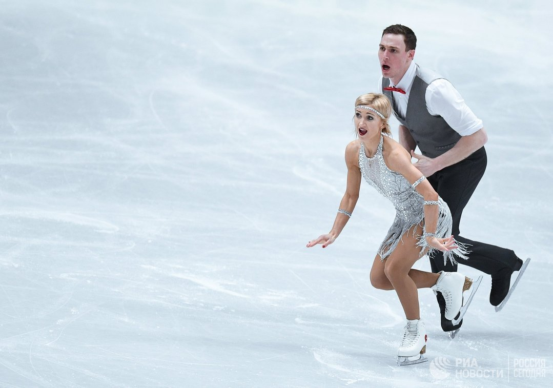 Тарасова иМорозов завоевали сереброЧМ пофигурному катанию среди спортивных пар
