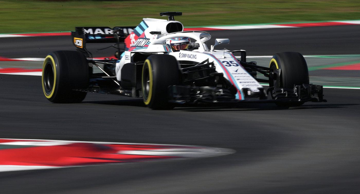 Сироткин стал 13-м в 3-й практике Гран-при Австралии «Формулы-1»