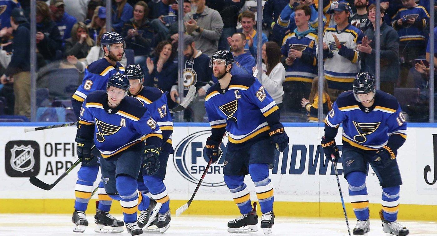 Шайба Тарасенко принесла «Сент-Луису» победу над «Коламбусом» вматче НХЛ