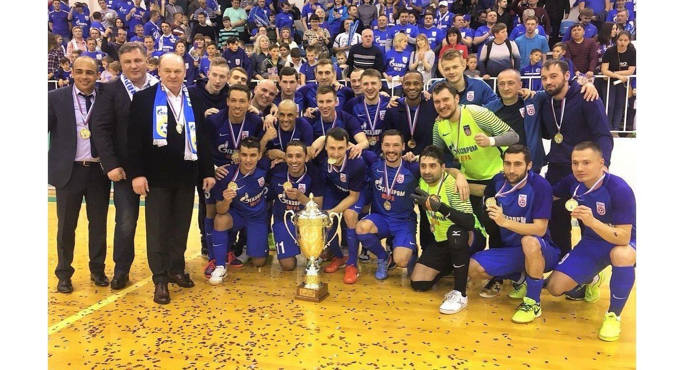 «Газпром-Югра» в 3-й раз одержал победу Кубок Российской Федерации помини-футболу