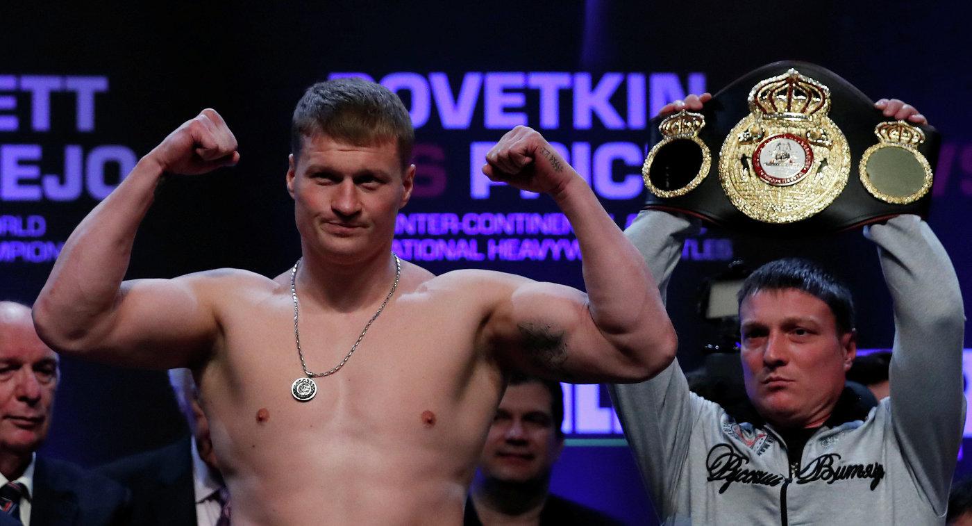Александр Поветкин остался навершине рейтинга WBA