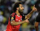 Нападающий сборной Египта Мохаммед Салах