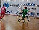 Игровой момент турнира Мини-футбол - в школу