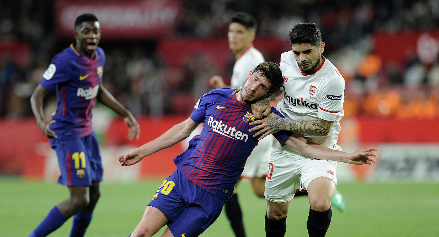 Месси забил супергол испас «Барселону» отпоражения