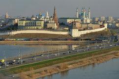 Казанский кремль и Кремлевская транспортная дамба