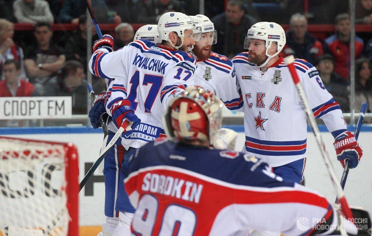 СКА вышел вперед в полуфинальной серии Кубка Гагарина