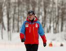 Тренер сборной команды Тюменской области по биатлону Максим Кугаевский