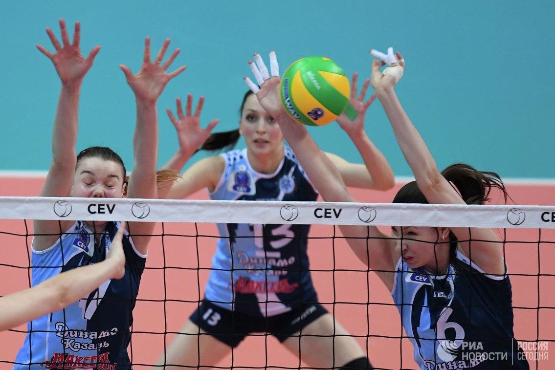 Чемпионат России по волейболу среди женских команд стартует в пятницу