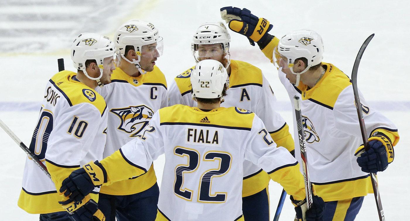 Стабильный чемпионат НХЛ впервый раз одержал победу «Нэшвилл»